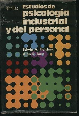 ESTUDIOS DE PSICOLOGIA INDUSTRIAL Y DEL PERSONAL Ejemplares numerados, ejemplar nº 1285.: Fleishman...
