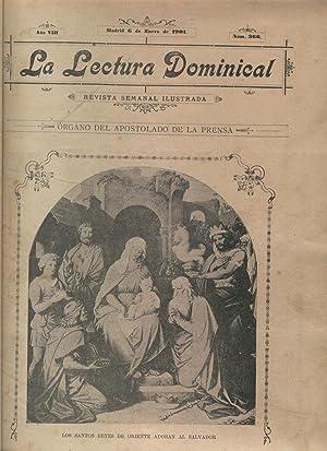LA LECTURA DOMINICAL Revista Semanal Ilustrada. Fotografía e ilustrac. en b/n.: Órgano ...