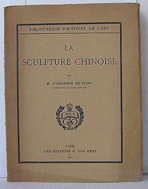 la sculpture chinoise 1931 edition illustree