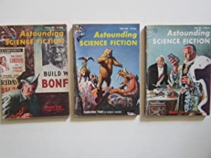 "Double Star"" (complete serialization) in Astounding Science Fiction (February, March and April..."