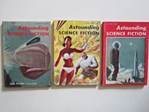 """Double Star"""" (complete serialization) in Astounding Science Fiction (November and December, ..."""