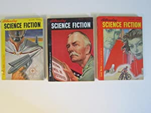 "Gunner Cade"" (serialized in three issues) in Astounding Science Fiction (March, April and May,..."