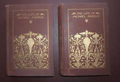 Life of Michael Angelo [Michaelangelo]. Two volumes.: Grimm, Herman