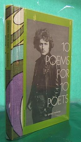10 Poems for 10 Poets (SIGNED Presentation copy): Malanga, Gerard.