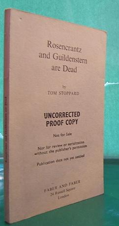 Rosencrantz and Guildenstern Are Dead (uncorrected proof): Stoppard, Tom