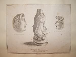 "Antique Fragments."" Steel engraving from Engravings of the World: Or, The Present State of the..."