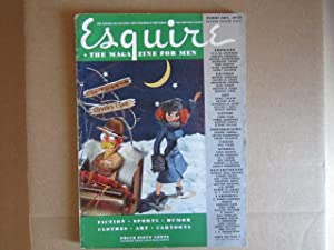 Esquire (February, 1942): Himes, Chester (fiction), Ben Hogan (golf essay), Arthur Szyk (full-page ...