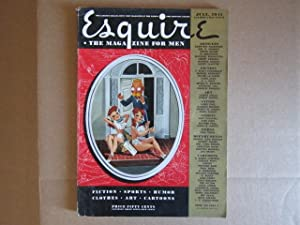 "Three Hours Between Planes"" in Esquire (July, 1941): Fitzgerald, F. Scott"
