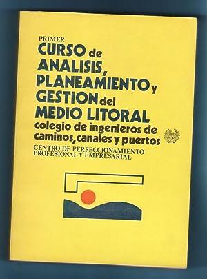 PRIMER CURSO DE ANALISIS, PLANEAMIENTO Y GESTION: GONZALEZ PAZ, José