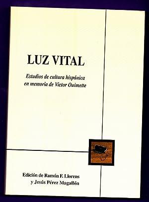 LUZ VITAL : estudios de cultura hispánica: LLORENS, Ramón F.