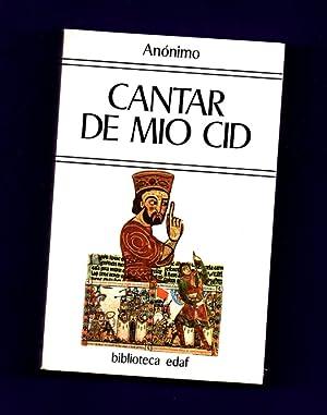 cantar de mio cid Primer cantar cantar del destierro (vv 1–1084) segundo cantar cantar de las bodas (vv 1085–2277) tercer cantar cantar de la afrenta de corpes (vv 2278.