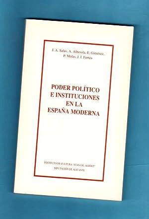 PODER POLITICO E INSTITUCIONES EN LA ESPAÑA: SALAS AUSENS, José