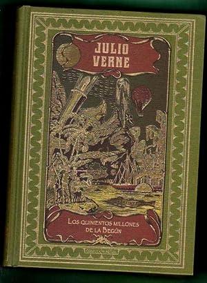 LOS QUINIENTOS MILLONES DE LA BEGUN y LA CAZA DEL METEORO. (Colección Hetzel). [Los 500 ...