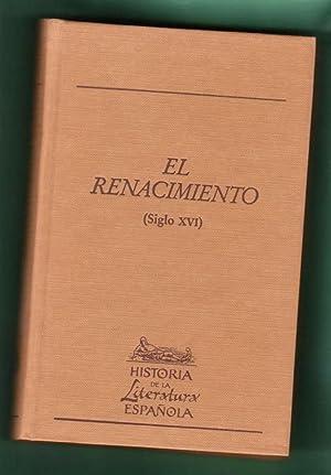 EL RENACIMIENTO (SIGLO XVI). (Historia de la: LABANDEIRA FERNANDEZ, Amancio