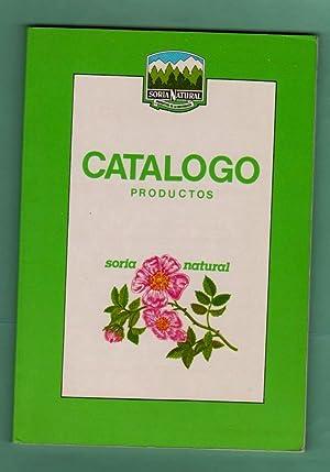 CATALOGO PRODUCTOS. Soria Natural. [Catálogo productos]: SORIA NATURAL [Soria Natural]