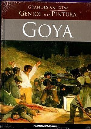 GOYA. (Grandes artistas y genios de la pintura). [Goya]: PEREZ SANCHEZ, Alfonso [A. Pérez Sánchez]