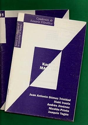 KARL MARX. 1. El Capital. Contribución a: GOMEZ TRINIDAD, Juan