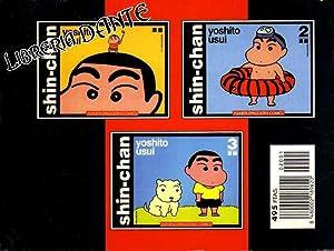 SHIN-CHAN. Obra completa. (contiene núm. 1, 2 y 3).: USUI, Yoshito