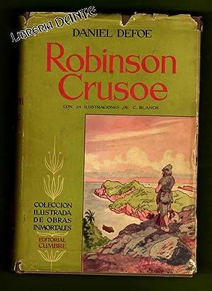 ROBINSON CRUSOE.: DEFOE, Daniel [D. Defoe]