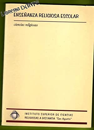 ENSEÑANZA RELIGIOSA ESCOLAR.: AA.VV.