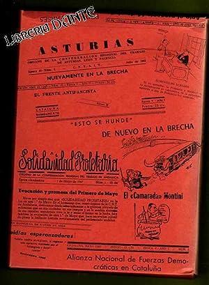 PRENSA Y DOCUMENTACION DE LA CLANDESTINIDAD LIBERTARIA (1945-1966) : reproducción facs&...