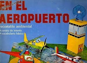 EN EL AEROPUERTO. Recortable ambiental.: LUNA, Carmen (diseño gráfico) ; GUIJARRO, Pilar (diseño ...