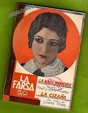 LA MALA MEMORIA : juguete cómico, en: GARCIA ALVAREZ, Enrique