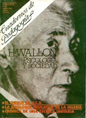 CUADERNOS DE PEDAGOGIA. Nº 63 : H. Wallon, psicología y sociedad.: CAIVANO, Fabricio (...