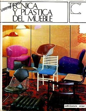 TECNICA Y PLASTICA DEL MUEBLE. (Enciclopedia Ceac de decoración, tomo 7).: ALVAREZ VIDORRETA...
