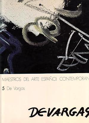 DE VARGAS. (Maestros del arte español contemporáneo).: WEBER, Andre [A.
