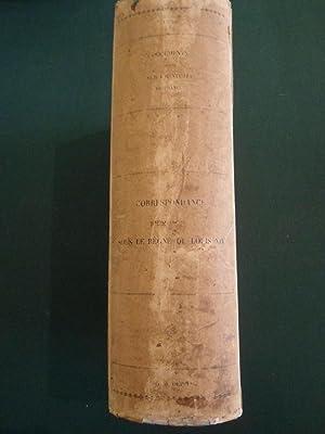 Correspondances administratives sous le règne de Louis XIV Tome I, II, III et IV: ...