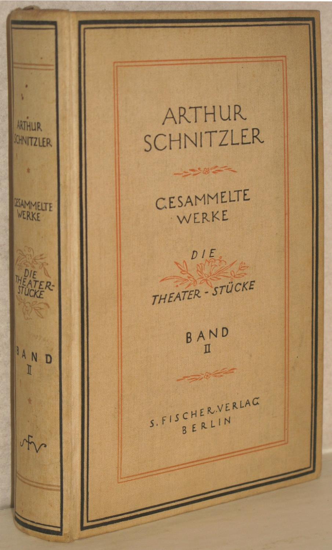 Die Theaterstücke. Zweiter Band. (Paracelsus. Die Gefährtin.: Schnitzler, Arthur
