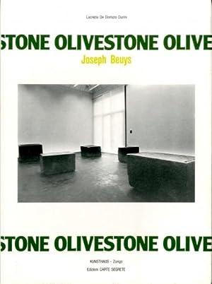Beuys) Joseph Beuys. Olivestone.: De Domizio Durini,