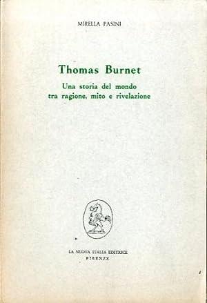 Thomas Burnet. Una storia del mondo tra: Pasini, Mirella