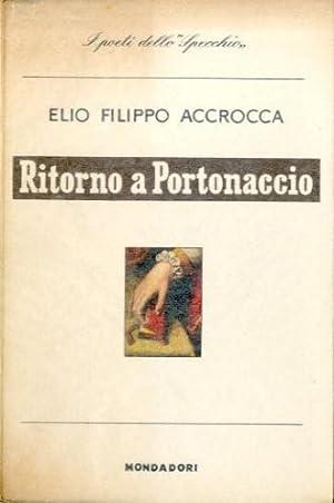 Ritorno a Portonaccio.: Accrocca, Elio Filippo