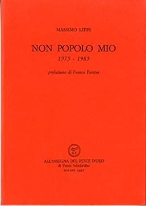 Non popolo mio. 1975-1985: Lippi, Massimo
