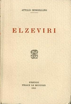 Elzeviri.: Momigliano, Attilio