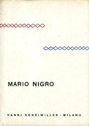 Nigro) Mario Nigro.: Fossati, Paolo -