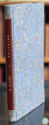 Voltaire. Particularités curieuses de sa vie et de sa mort, avec des réflexions sur le mandement de...