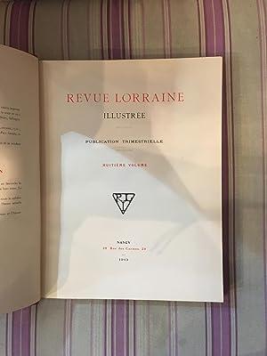 Revue Lorraine illustrée.: COLLECTIF