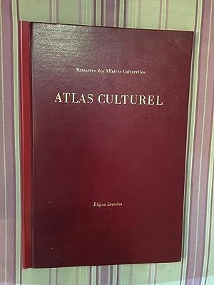 Ministère des affaires culturelles. Atlas culturel.: COLLECTIF