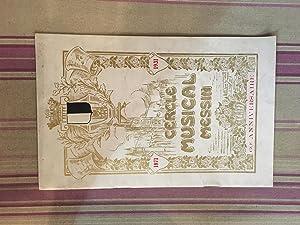 Cercle musical messin-Concert donne a l'occasion du 60ème anniversaire de sa fondation ...