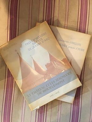 Le château et les seigneurs de Bourlémont 1149-1412 - 1412-1962. En deux volumes ...