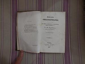 Essais philosophiques sur les systemes de Locke, Berkeley, Priestley, Horne-Tooke, etc.: ...