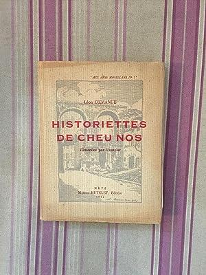 Historiettes de cheu nos.: DEMANGE (Léon)