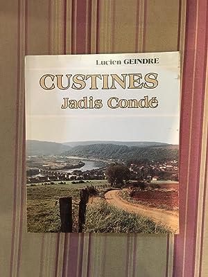 Custines, jadis Condé.: GEINDRE (Lucien)