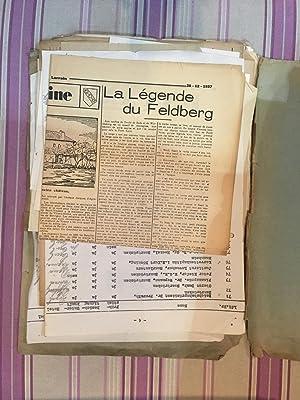 Factures d'achat de livres anciens provenant de collection d'Eugène Lambert?.: ...