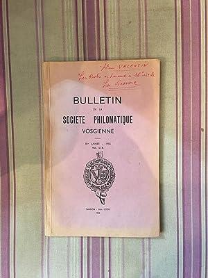 Bulletin de la Société Philomatique Vosgienne Vol. LIX.: COLLECTIF