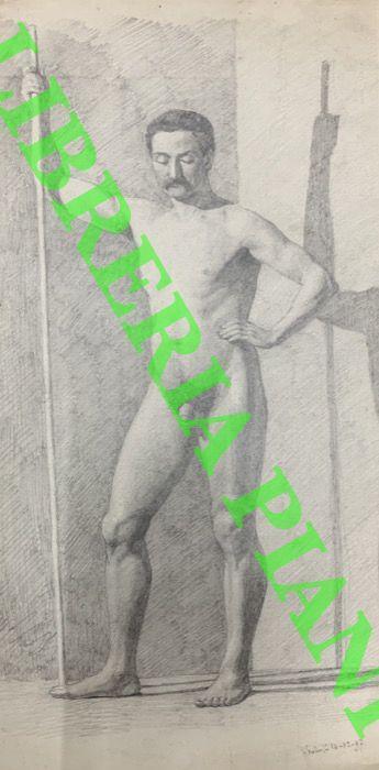 Nudo maschile frontale. -