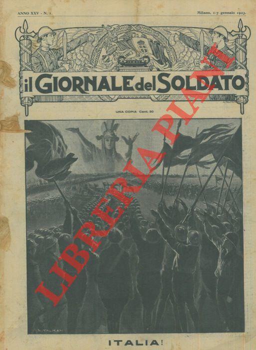 Il Giornale del Soldato. A. Rubino, ecc. -